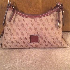 Dooney & Bourke purse & checkbook wallet