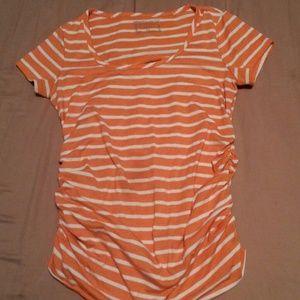 Striped Motherhood Maternity Top