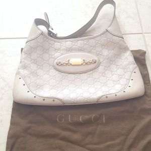 Off white Gucci bag