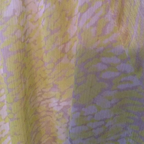 Yellow Sheer Blouse 2