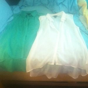 H&M Tops - H&M chiffon hi-lo top bundle