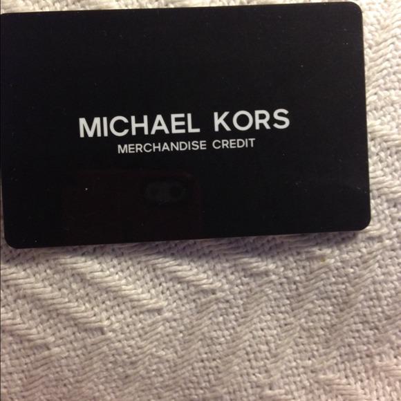 michael kors gift card