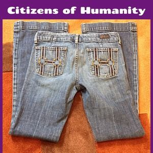 Citizens of Humanity Trouser Denim