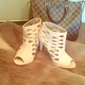 Fabulous Cut-Out Booties