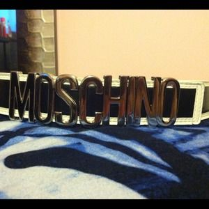 Authentic NEW Moschino Belt