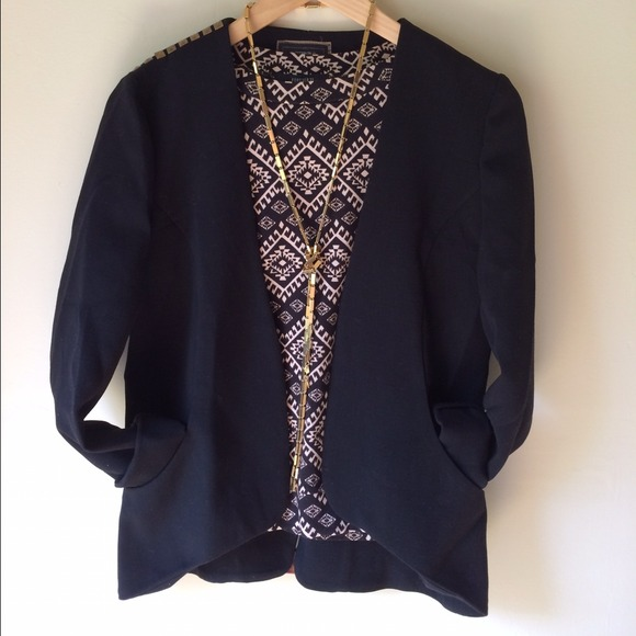 Jackets & Blazers - Essential black studded blazer 2