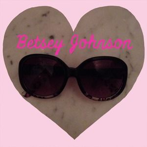 Betsey Johnson Leopard Sunglasses NWOT 