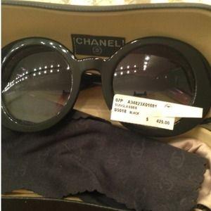 e7e3a8aa5efa3 CHANEL Accessories - Chanel 5018 sunglasses half tint wavy arm rare