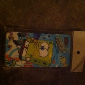 iPhone 4/4s spongebob hard phone case