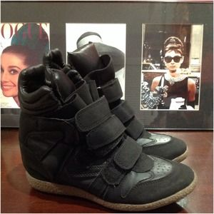High Tops Sneaker Wedges