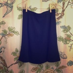 Pretty blue vintage skirt