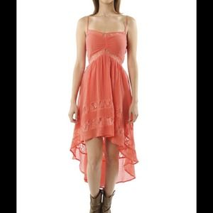 LOWEST Festival Dress High-Lo Lace