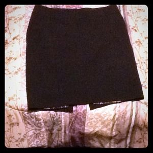 Express Design Studios Black Pencil Skirt