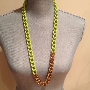 Kate Spade chain link necklace