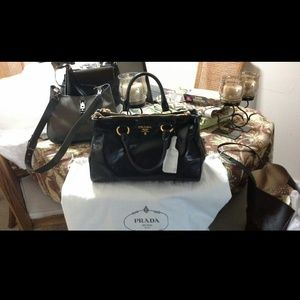 24% off Prada Handbags - ????SOLD????????Prada Vitello Shine ...