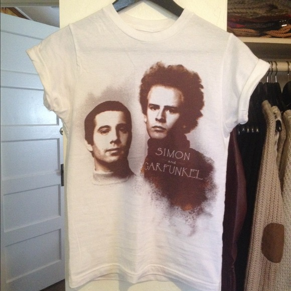Urban Outfitters Tops - Simon and Garfunkel Tee from Urban Outfitters 2