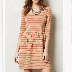 Anthropologie Elodie Sweater Dress