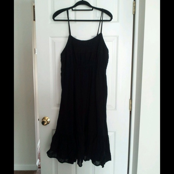 Black Old Navy Plus Size Dress 3X knee length