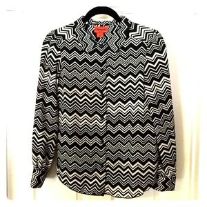 Missoni for Target chevron blouse