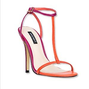 shoemint Shoes - Colorblock sandals / size 5