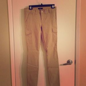 Express size 6 cargo inspired pants