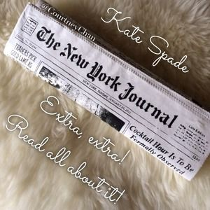 kate spade Clutches & Wallets - 💸FLASH SALE💸 Kate Spade Newspaper Clutch