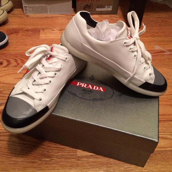 cbce4c9bac275a ... inexpensive prada low top sneakers mens 35386 be664