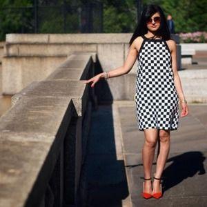 Zara Dresses - 🎉HOST PICK!🎉 BNWOT Zara Checkerboard Dress