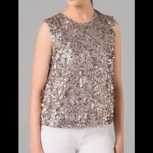 Vince Sequin Top S