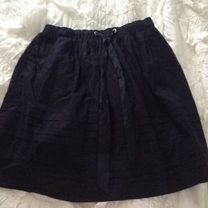 Cute Navy Blue Vintage Skirt