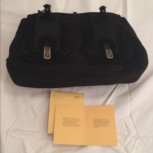 0c1759a18b FENDI Bags - Authentic Fendi Black B-Bag cashmere velvet Bag