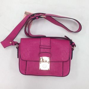 Melie Bianco Handbags - Bright Pink Cross Body Bag
