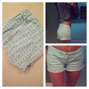 Gap blue preppy shorts