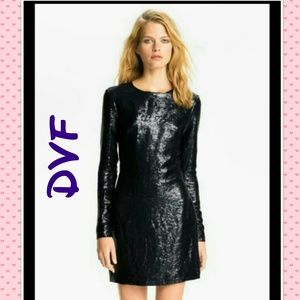 DVF SEQUIN DRESS