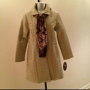 ❤️HP 10/8💖 SPIEGEL Leather Full Length Coat