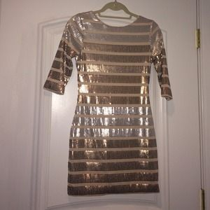 Sequined mini dressREDUCED