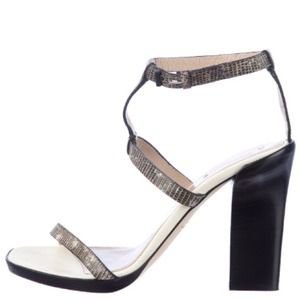 Reed Krakoff Shoes - Authentic Reed Krakoff Python Strappy Heels