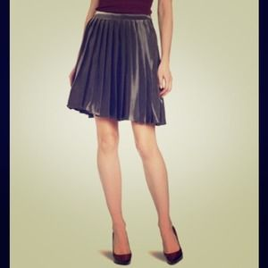 Yoana Baraschi metallic pleated skirt $250