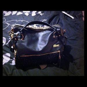 Handbags - HOLD REDUCED Sequin cheetah print handbag