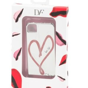 DVF heart iPhone 4 4s case