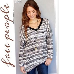 RESERVED NWT FREE PEOPLE SONGBIRD SWEATER