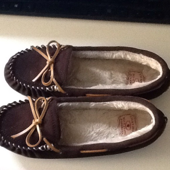 49b0360bee27 Lucky Brand Accessories - Lucky Brand fur moccasins slippers