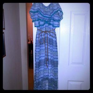 Maxi-High low dress