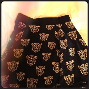 CUTE WOLF SKIRT FROM URBAN OUTFITTERS
