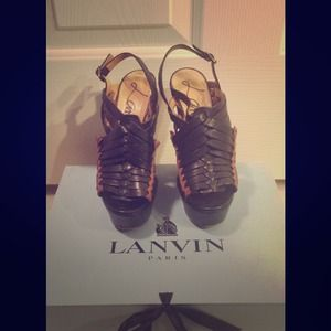 Lanvin Shoes - Lanvin Wedge Heels