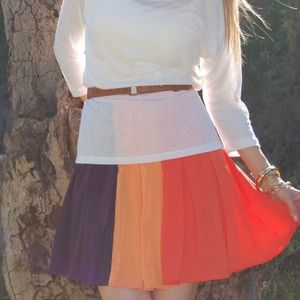 Ark & Co Dresses & Skirts - Color blocked skirt.