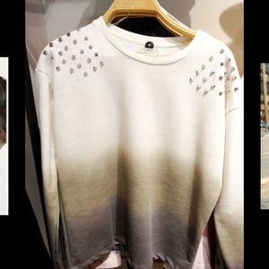 🎀HOST PICK 🌟Zara trafaluc studded ombre sweater