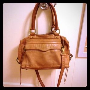⚡️$ negoiable⚡️Rebecca minkoff MAB bag tan leather