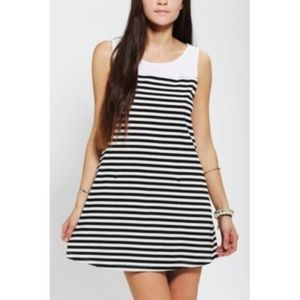 Stripped Urban Outfitters dress