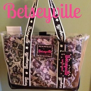 Betsey Johnson Handbags - Betseyville Tote by Betsey Johnson
